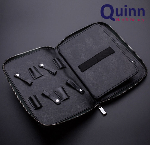 QUINN 8 Piece Scissor Hairdresser  Barber Shears Zip Case