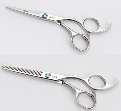 Stainless Steel Professional Hairdressing Barber Student Cutting Scissor 5.5 Inch Set