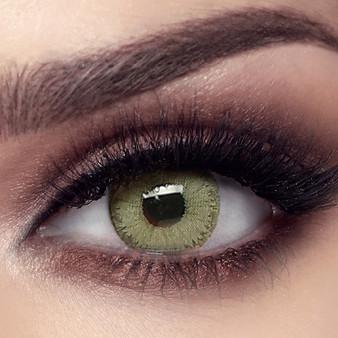 Bella Elite Emerald Green Lenses - One Box Two Lenses