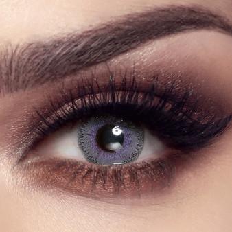 Bella Elite Lavender Gray Lenses - One Box Two Lenses