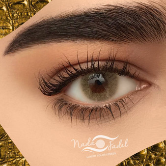 Nada Fadel Goldnad Lenses - One Box Two Lenses