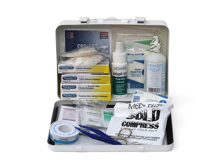 Standard Vehicle First Aid Kit by Medique