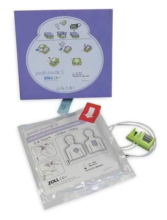 Pedi-Padz II Pediatric Multi-Function Electrodes