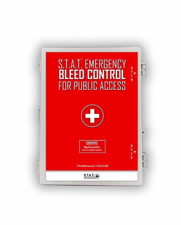 MCAR Station Hard Cover Mass Casualty Trauma Kit.
