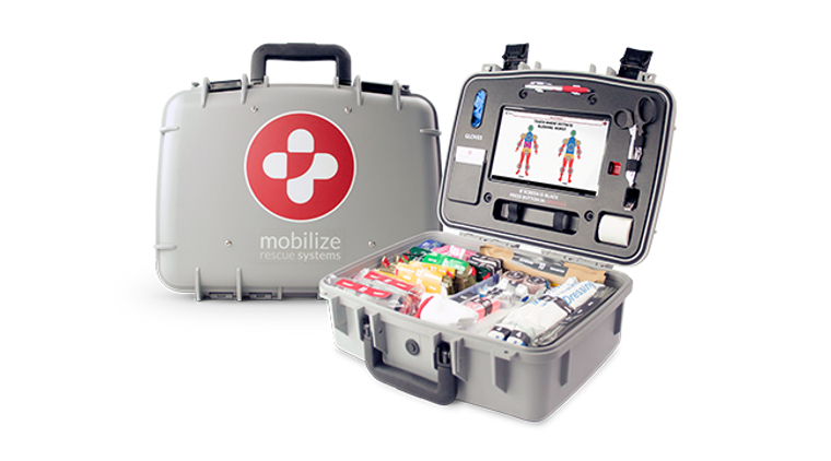 Mobilize Rescue Systems Comprehensive Rescue System SMART Medical kit.
