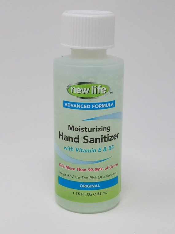 New Life Moisturizing Hand Sanitizer with Vitamin E and B5