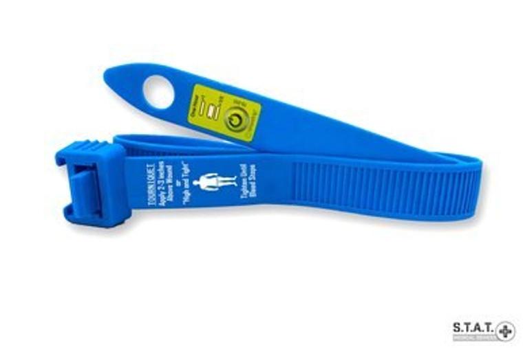 S.T.A.T. Medical Devices Trainer Blue Tourniquet