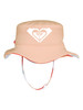 Girls 2-7 New Bobby Reversible Bucket Hat - Bright White Warm Stripe