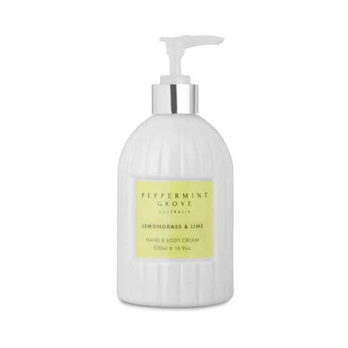 Lemongrass & Lime Hand and Body Cream