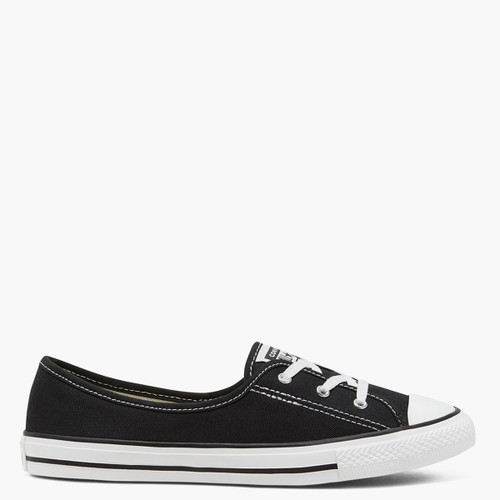 Chuck Taylor All Star Dainty Ballet Lace Slip - Black