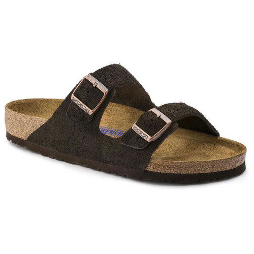 Arizona Suede Leather (Soft Footbed - Suede Lined) Regular Fit - Mocha