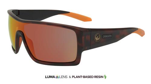 Flash - Matte Dark Tortoise w/ Lumalens Orange Ion