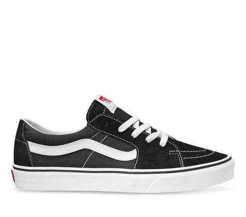 Sk8-Low Shoes - Black/True White