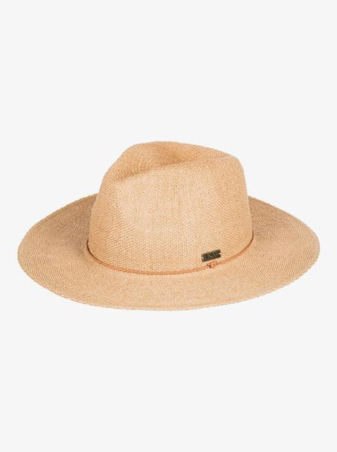 Womens Early Sunset Panama Hat - Natural