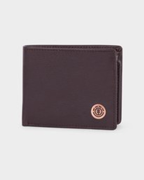 Icon lather Wallet - Chocolate