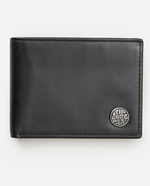 Icon's RFID All Day Wallet - Black/Grey