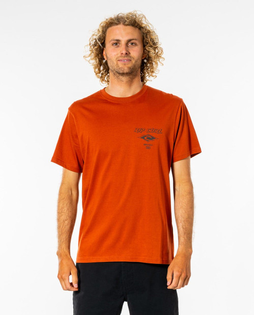 Fadeout Essential Tee - Red Dirt