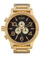 51-30 Chrono Watch - All Gold/Black