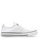 Converse Chuck Taylor All Star Shoreline Knit Slip Low Top - White/Black/White