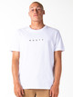 Short Cut Short Sleeve Tee - White