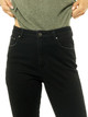 High Rise Straight Jean - Retro Black