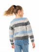 Ender Crew Neck Knit Girls - Blue Fog