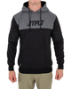 RX Mens Pullover Hoodie - Black/Charcoal