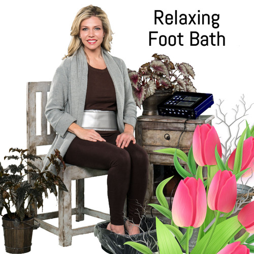 Detox Foot Bath with 6 arrays