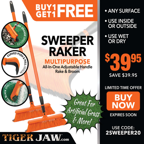 Buy 1 Get 1 Sweeper Raker FREE