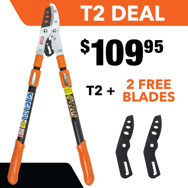 T2 Tiger Jaw Ratchet Loppers