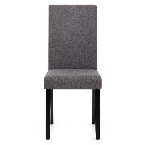 Cologne Fabric Dining Chair - Grey