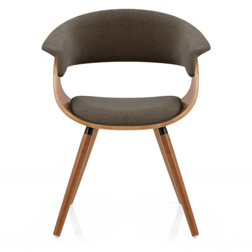 Gibson Walnut Dining Chair - Brown