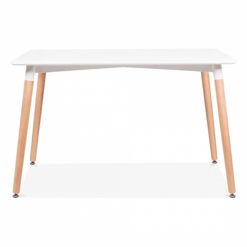 Scandi Style Dining Table - White