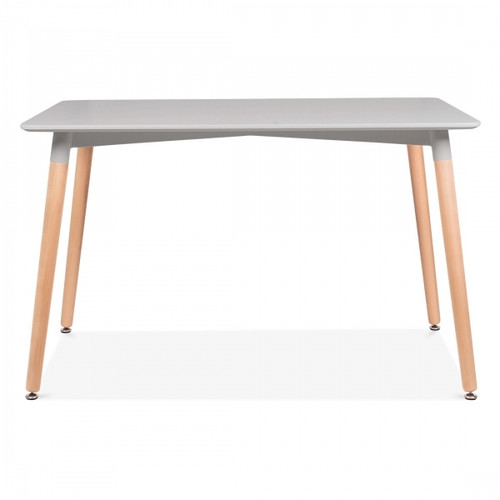 Scandi Style Dining Table - Grey