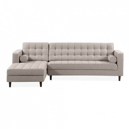 Cambridge Left Corner Sofa Cream