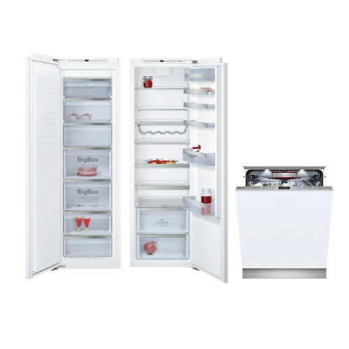 Neff Fridge, Freezer and Dishwasher Collection 1 Appliance Package