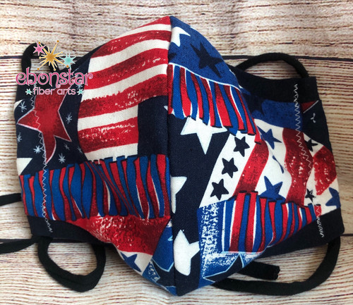 4th of July Masks - Adult Sizes - Made to Order