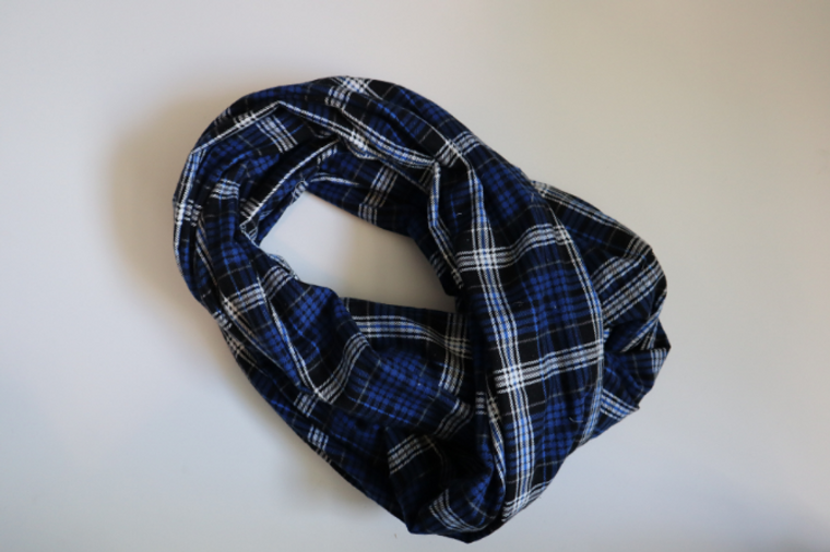 Infinity Scarf with 'Hidden' Pocket