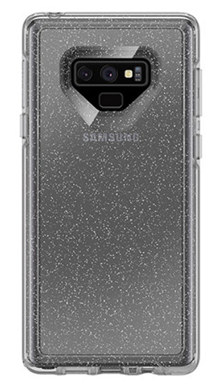 sale retailer ec96f 99afb OtterBox Symmetry Clear Case for Samsung Galaxy Note 9 - Stardust