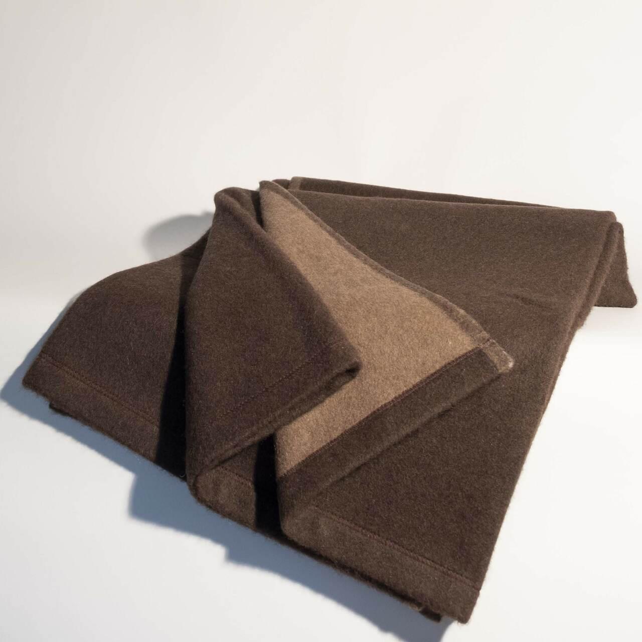 Heavy Chocolate Yak Down Blanket