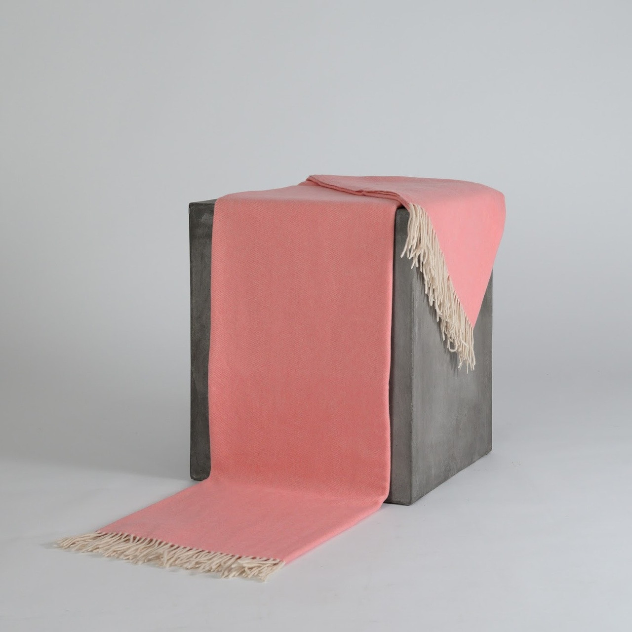 Barbuda Pink Cashmere Throw