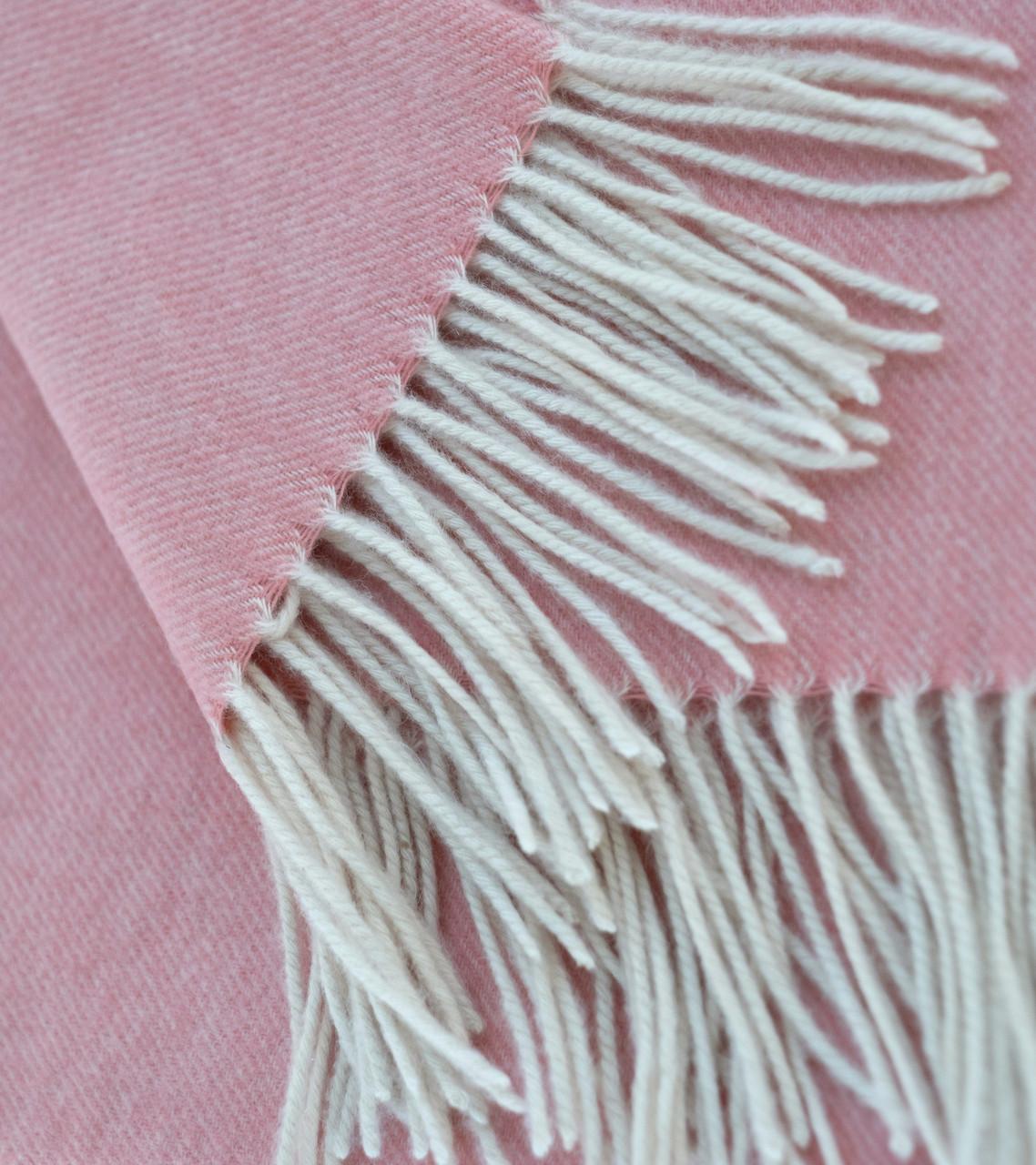 Barbuda Pink Cashmere Woven Throw