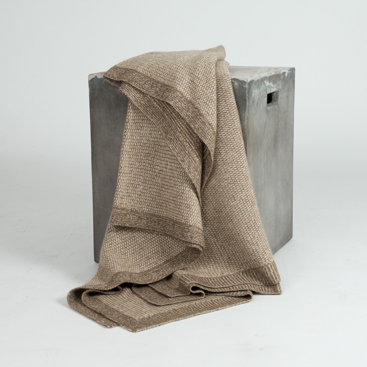 The Beehive Knit Throw
