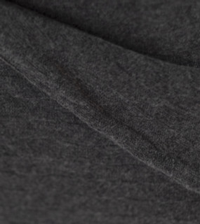 Organic Charcoal Diamond Lattice Knit Throw