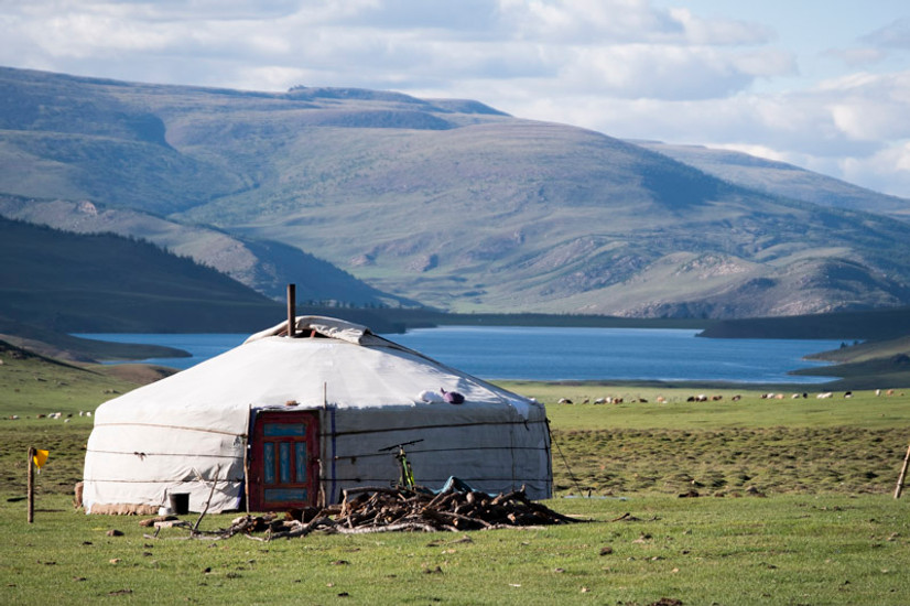 The Home of a Mongolian Ger