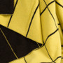 Tartan Lemon Yellow Knit Throw
