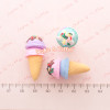 Polymer Clay Ice Cream Miniature *Set of 3 pieces*