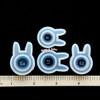 Bunny Ear Silicone Resin Ring Mold (4 pieces)