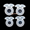 Halloween Bat Wings Silicone Resin Ring Mold (4 pieces)
