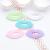 Pastel Glitter Chic Lips Resin Cabochon - 10 pieces